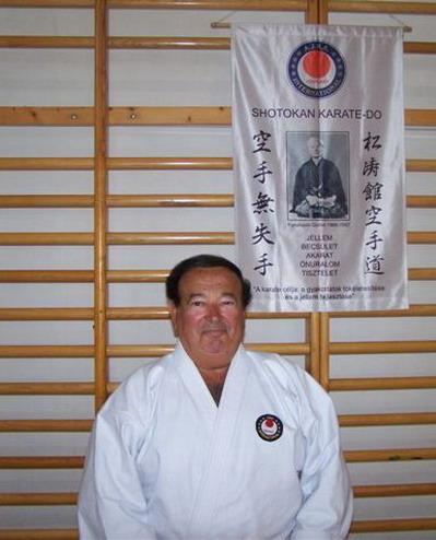 Sensei Sáfár László IX.DAN  shotokan karate nagymester
