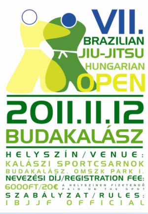 VII. BJJ Open Hungary