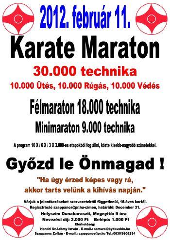 Karate Maraton