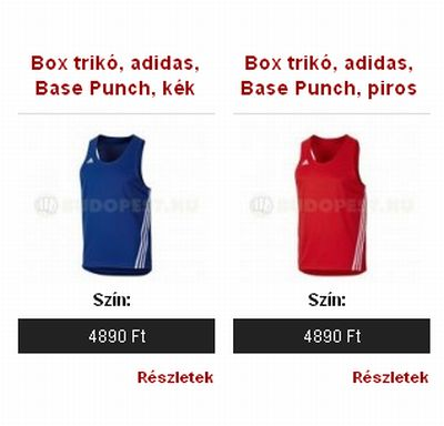 adidas Base Punch boksztrikó