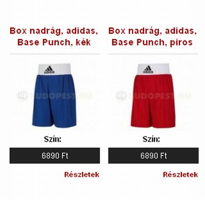 adidas Base Punch boksznadrág