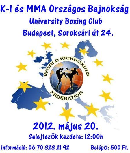 K-1 és MMA Országos Bajnokság
