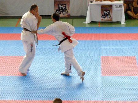 Sensei Fris Ferenc akcióban a a Bécs Open-en Sinkó Attilával küzd