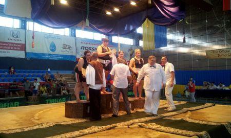 Makai Erika ezüstérmes az Ukrajnai Szumó EB-n