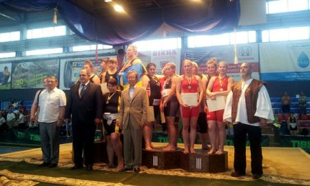 A magyar női csapat harmadik helyen végzett a az ukrajnai Szumó EB-n