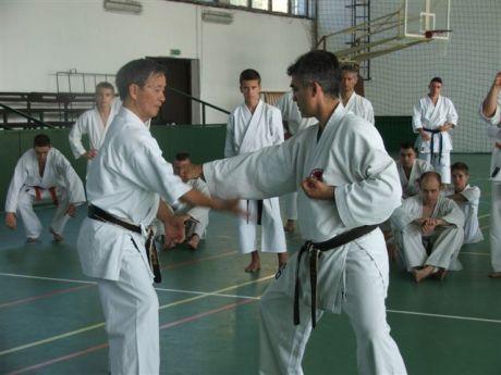 Shihan Takeji Ogawa és Shihan Hasányi László