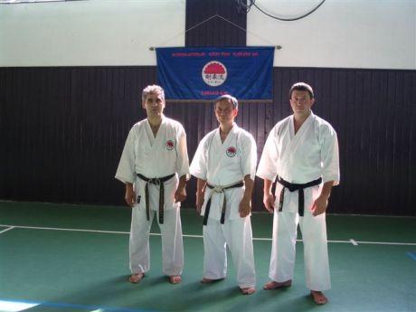 Shihan Takeji Ogawa, Shihan Hasányi László és Sensei Igor Senjakov