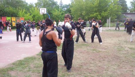 Kempo edzőtábor Balatonszemes, 2012