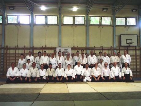 Aikido szeminárium, csoportkép
