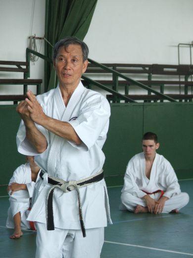 Shihan Takeji Ogawa 9. danos Goju-Ryu mester