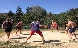 Sumo csapatbajnokság első ízben Magyarországon