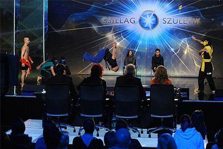 A TwistAirs csapata a Csillag Születik c. műsorban