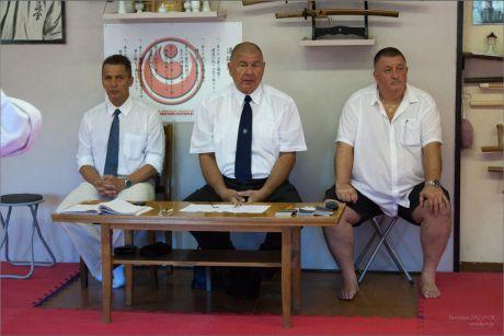 Shinkyokushin danvizsga Szolnokon a Furko Branch-ban.