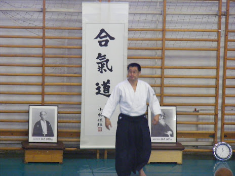 Sensei Kobayashi Hiroaki