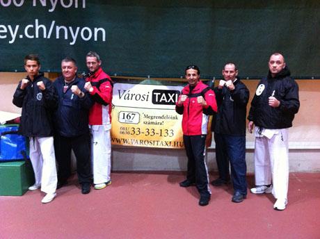 Swiss Open, A magyar csapat és a szervező Svájci csapat