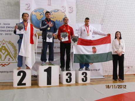 Rőfi Gyula bronzérmes