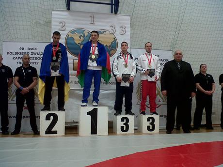 Hollósi Csaba bronzérmes