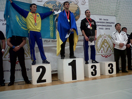 Sztrancsik Balázs bronzérmes