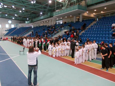 Kempo bajnokság 2012, Halle - Megnyitó
