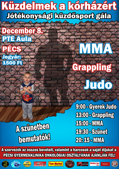 MMA Jótékonysági Gála Pécsen
