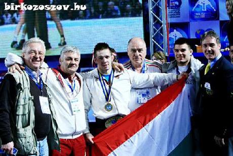 Lőrincz Tamás Európa-bajnok