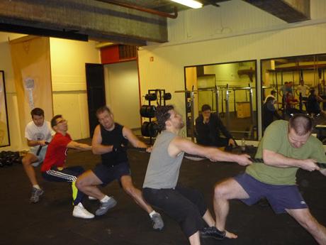 Fegyencedzés a Thor Gym-ben