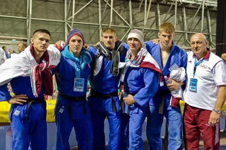 Judo EB: A Magyar férfi csapat