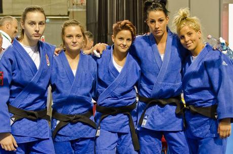 Judo EB: A Magyar női csapat