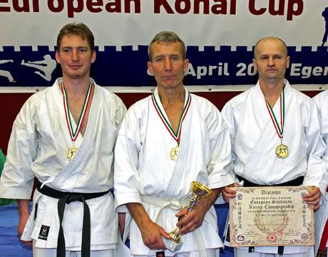 3. SKDUN Shotokan Karate Európa Bajnokság és 3. SKDUN Shotokan Utánpótlás Európa Kupa - Eger