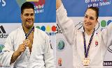 A végére is maradt érem: Joó Abigél és Bor Barna bronzérmes