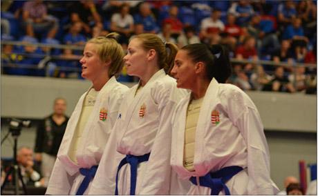 48. WKF Karate Európa-bajnokság: A Magyar csapat - lányok