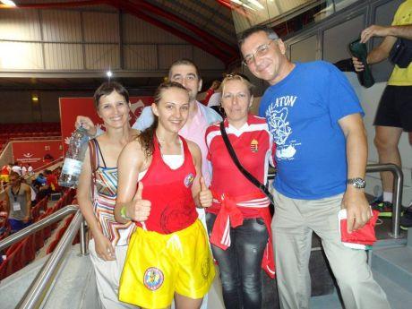 Daniella a győztes döntő után