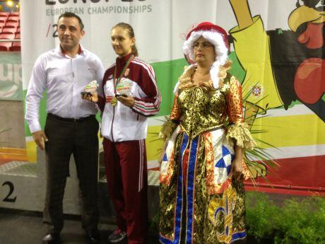 Éltető Daniella Európa-bajnok és különdíjas