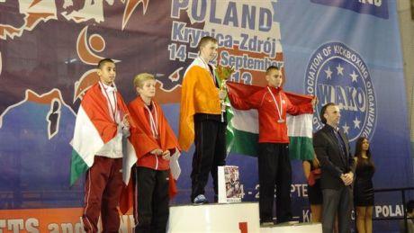 Óré Márk ezüstérmes Kick-box Európa-bajnokságon Lengyelországban