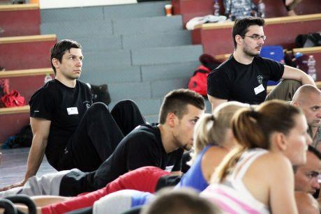 StrongFirst szeminárium Budakalászon, 2013 - Ács Ferenc és Adolf Albert SFG 2 instruktorok