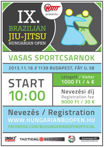 IX. Hungarian BJJ Open