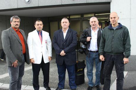 Magyar delegáció Japánban