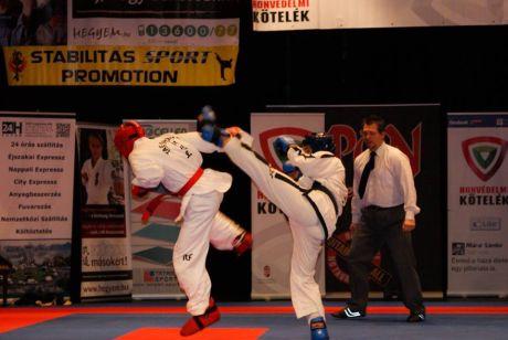 Taekwondo show küzdelem