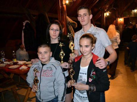 Ódor Erik és Lili valamint Kornély Medárd ás Szabó Ingrid