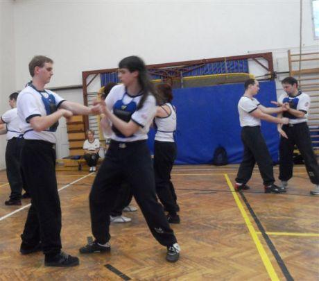 Wing-Tsun: Tanítványok gyakorlás közben