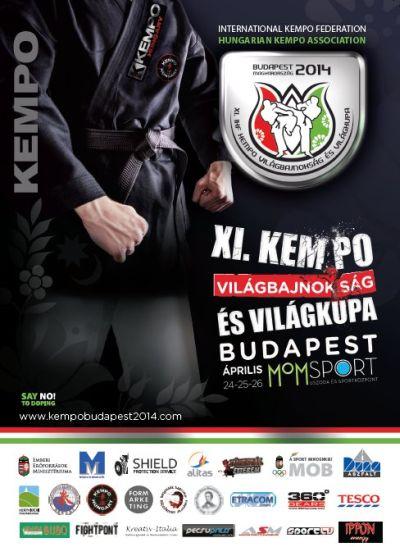 Kempo Világbajnokság és Világkupa Budapesten, 2014
