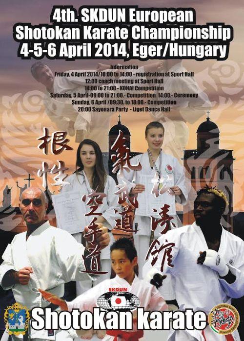 SKDUN Shotokan Európa-bajnokság, Eger