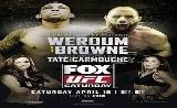 UFC on FOX 11 eredmények