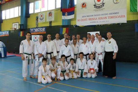 Kancho Yasou Kawano és a magyar csapat