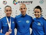 Hat magyar érem a jesolói karate Youth League-en
