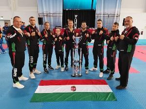 Bronzérmes lett a magyar csapat a Kempo Európa-bajnokságon!