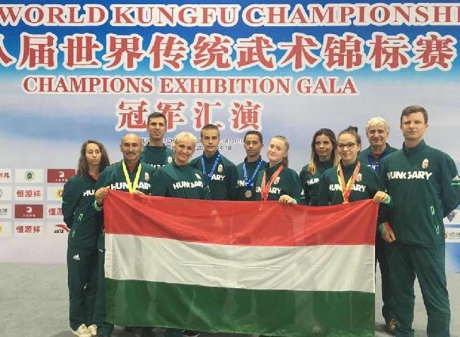 Kiváló magyar szereplés a kungfu Világbajnokságon!