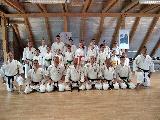 IKU karate edzőtábort tartottak Balatonfenyvesen