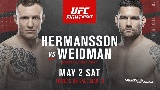 A Weidman vs. Hermansson lesz a UFC Oklahoma City fő eseménye