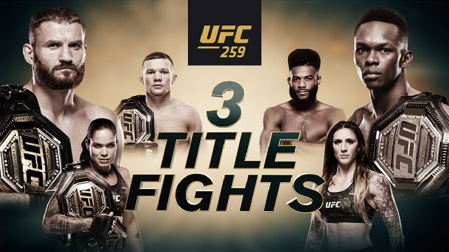 Champion Vs. Champion: UFC 259